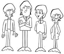 Afbeeldingsresultaat Voor Silhouette Beatles Cartoon Beatles Cartoon The Beatles Cartoon