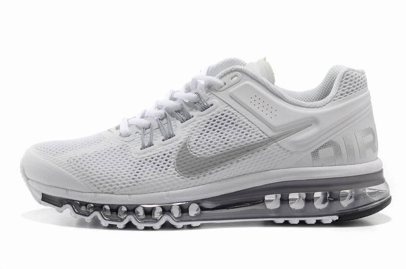 Cheap Nike Air Max 2013 White For Running For Men.