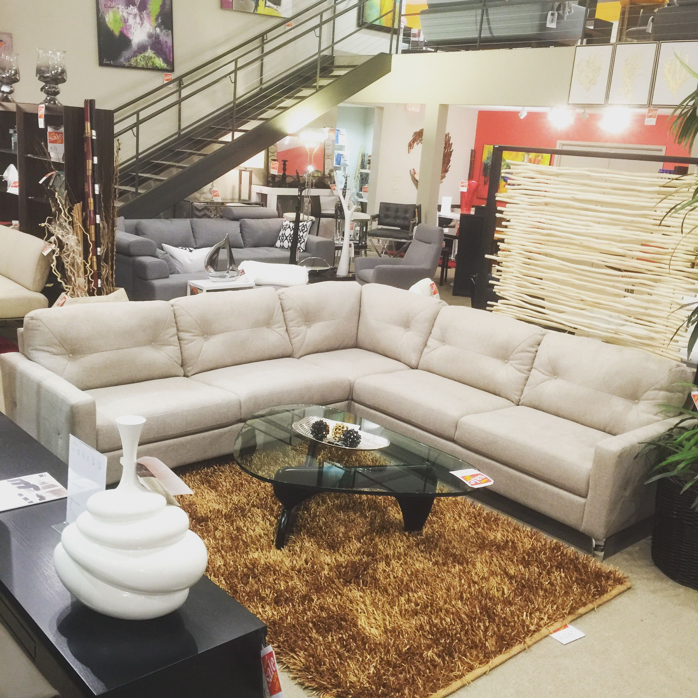 Scandinavia Inc. Metairie New Orleans Louisiana Palliser Dot Sectional