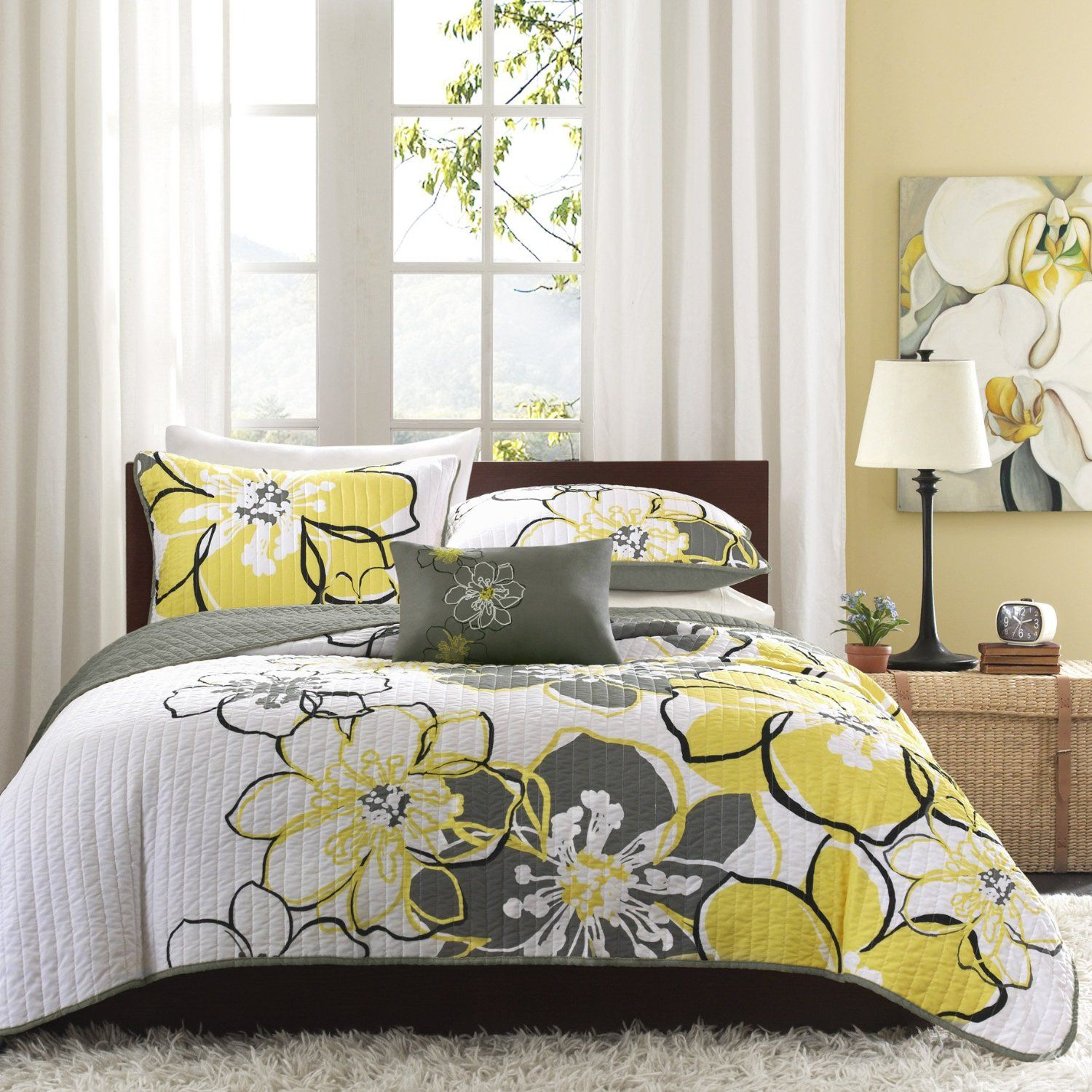 sets impressive in with canada for yellow and grey fancy cover covers duvet queen quilt