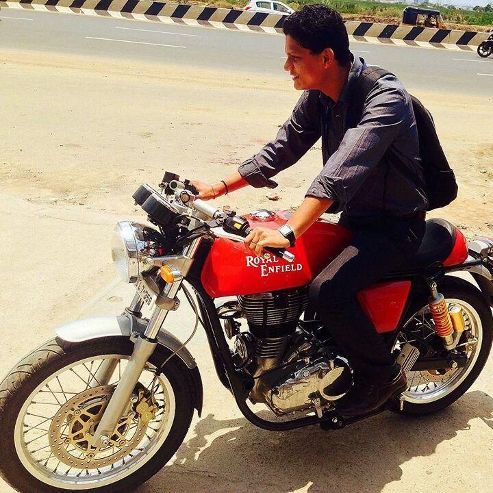 Riding the beast.. America Mapalai....
