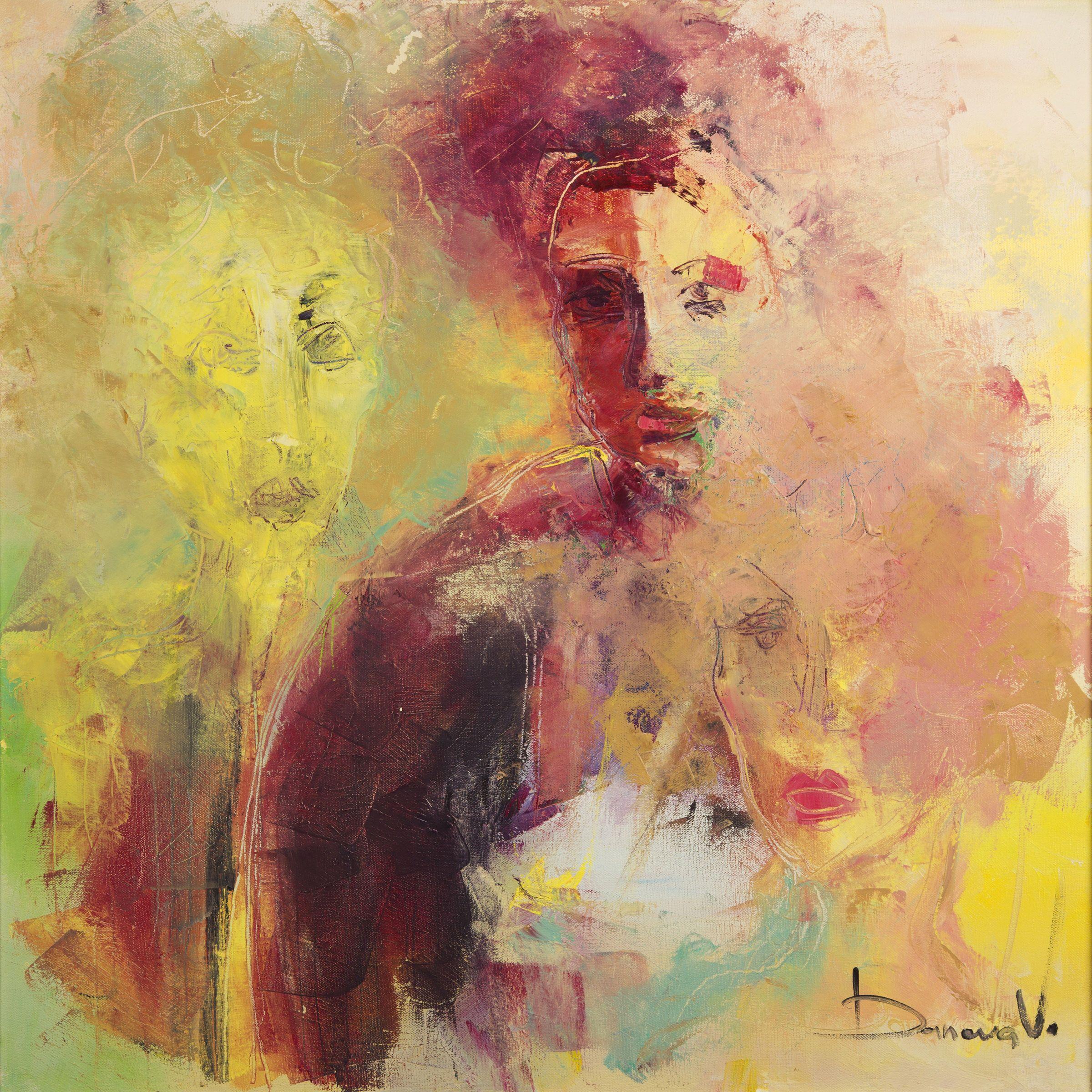 Contemporary art,Abstract print,Face print, Art print,Portrait print ...