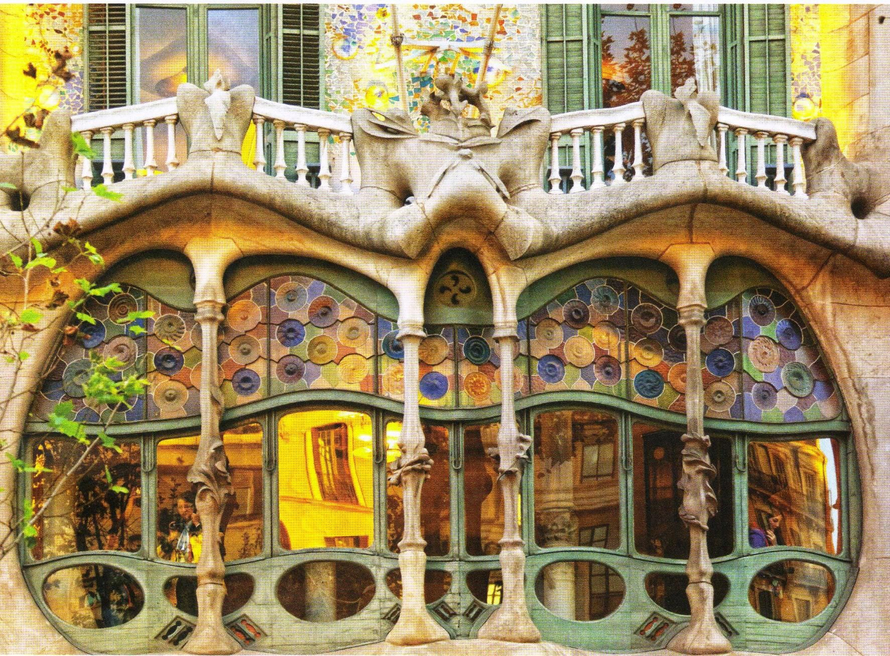 casa batlló barcelona gaudi antoni gaudi buildings and