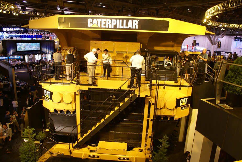 mining truck.Caterpillar 797F off highway hauler at