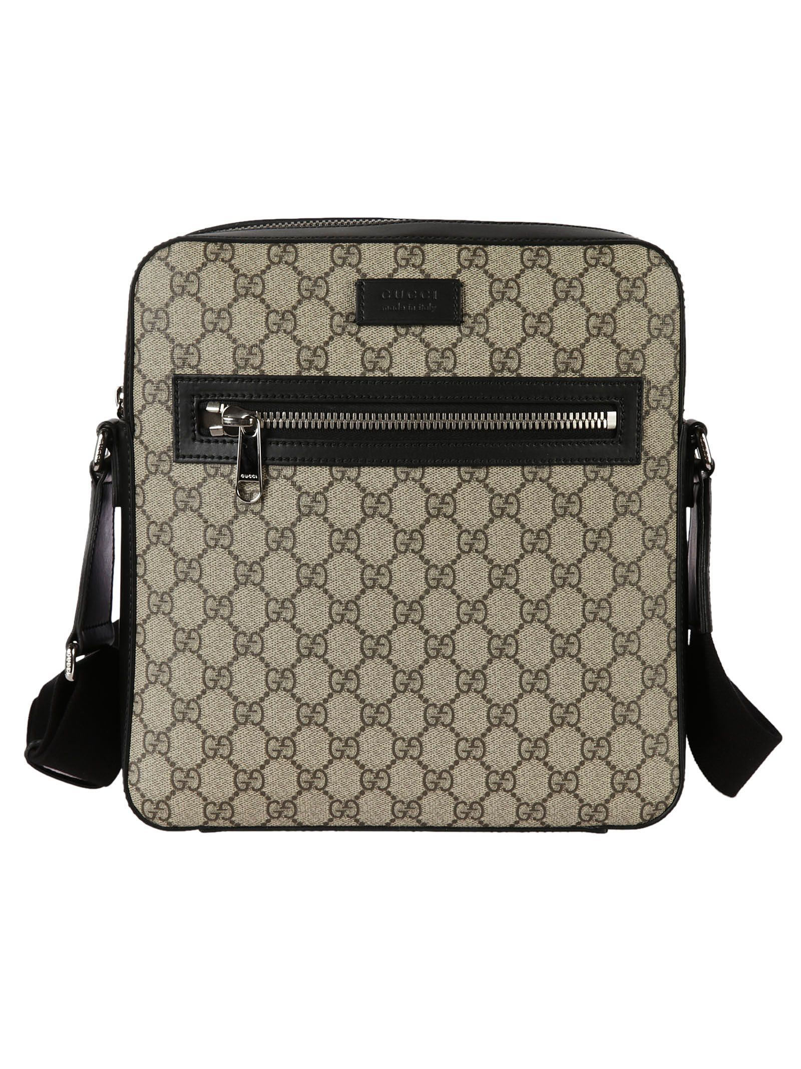 c8f1461063e0 GUCCI GG SUPREME FLAT SHOULDER BAG. #gucci #bags #shoulder bags ...