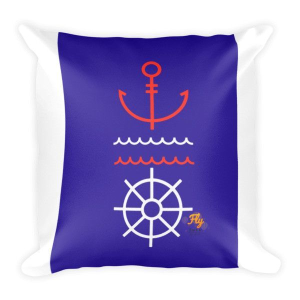 Anchor Fly Tots Pillow