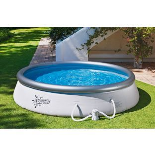 Buy Bestway 10ft Quick Up Round Family Pool 3638l Pools And Paddling Pools Argos Hot Tub Garden Pool Argos