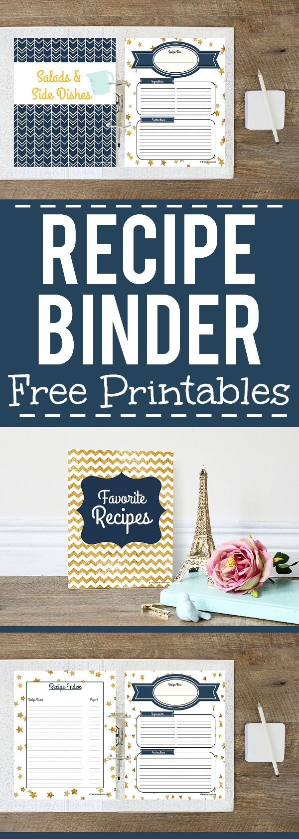 How to make a recipe binder with free diy recipe binder printables how to make a recipe binder with free diy recipe binder printables solutioingenieria Choice Image
