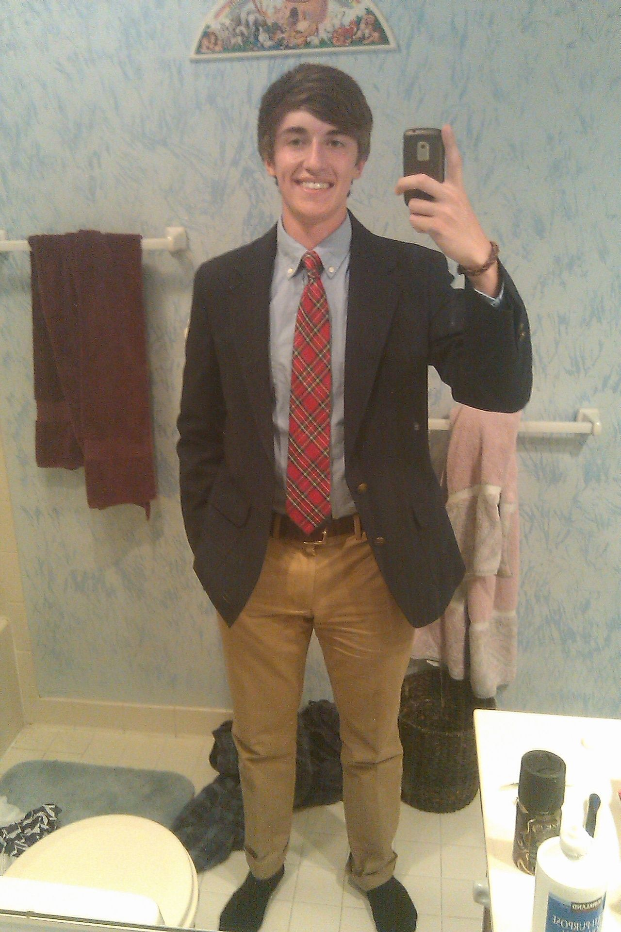 love the prep-school look