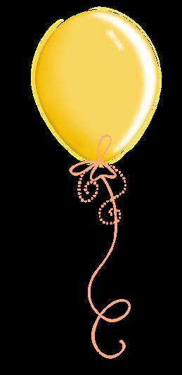 yellow balloon party & celebration
