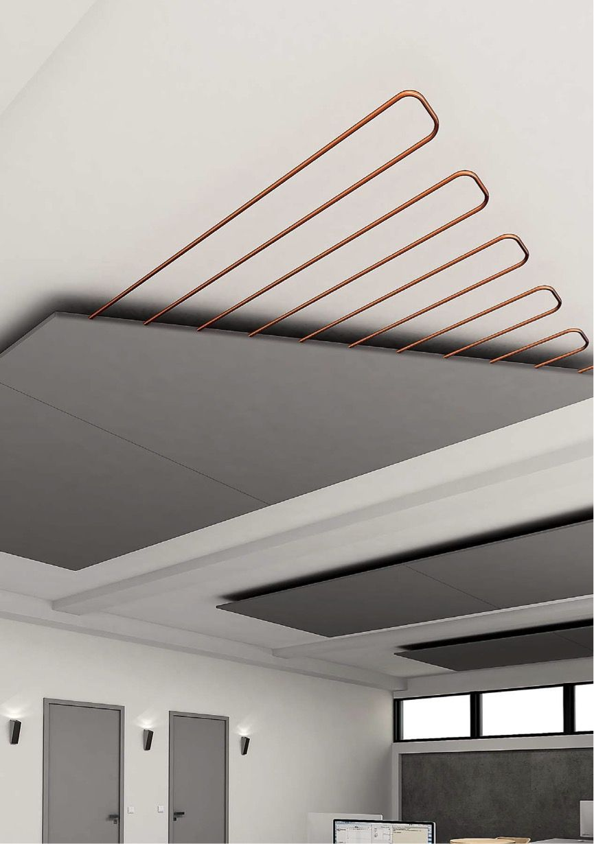 Radiant Graphite Ceiling Thetechbutler Ceiling Panels Bathroom