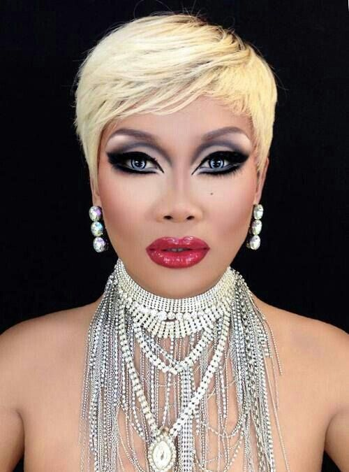 Boob Drag Dress Heel Make Makeover Shane Skirt Up Wig -5410