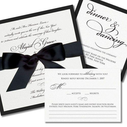 25 Lovely Wedding Invitation Designs Black Wedding Invitations Black Tie Wedding Invitations Simple Wedding Invitations