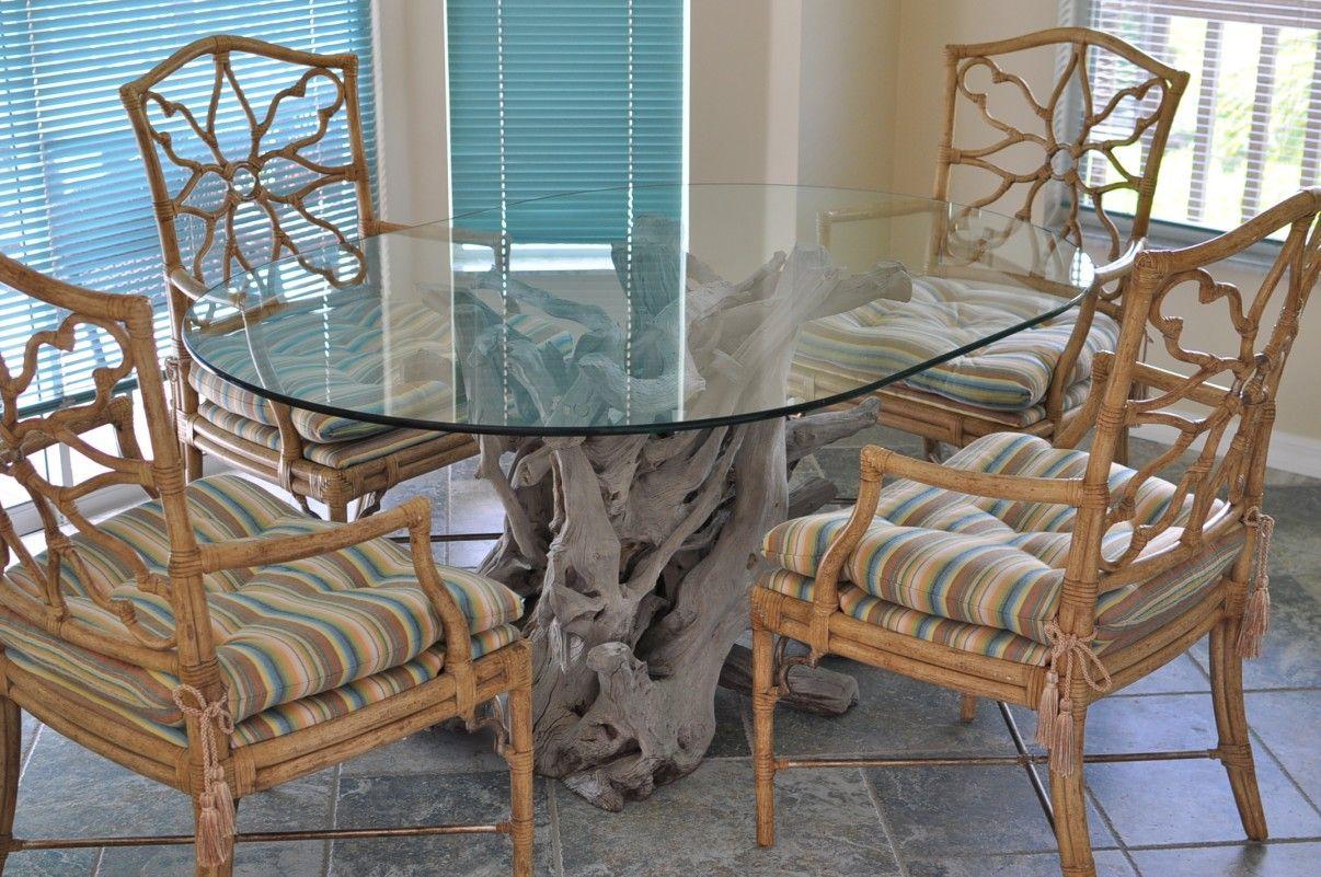 Driftwood Decor Custom Driftwood Furniture Dining Table Glass Dining Table Driftwood Dining Table
