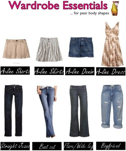 pants for pears (With images) | Pear body shape, Pear shape