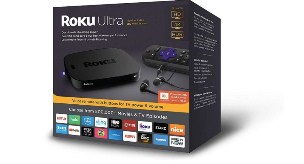 Roku Ultra 2020 Best Price Get Todays Hot Deals With Images Roku Roku Channels Tv Episodes