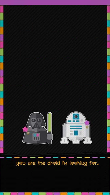 Cute Star Wars Wallpaper Star Wars Wallpaper Iphone Star Wars Wallpaper Valentines Wallpaper