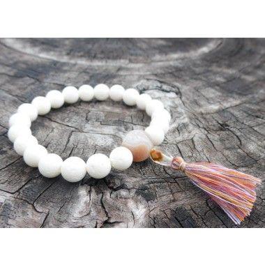 White Coral Wrist Mala #wholesalejewelry #braceletstack #malabeads #wristmala #wristmalas #wristgame #armswag #armcandy #wristcandy #wristporn #wristbling #yogajewelry #yogamala #yogabracelet #yogabracelets #yogainspiredjewelry #yogabeads #spiritualjewelry #bohobracelet #bohojewelry #bohojewels #bohemianjewels #bohemianjewelry #gypsyjewelry #gypsyjewels #gypsybracelet #buddhabracelet #meditationbracelet #meditationbeads #meditationjewelry