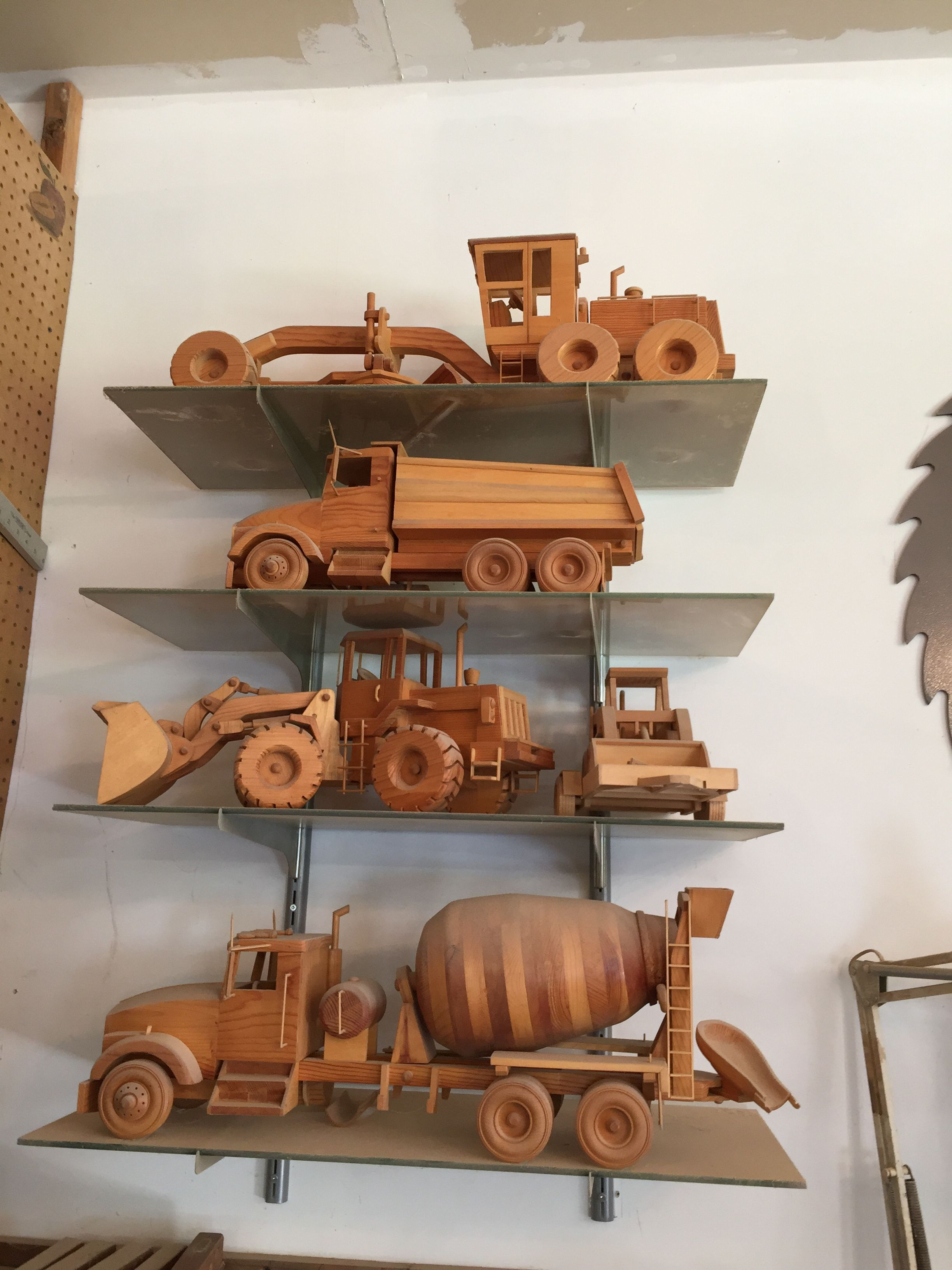 wood models | wood working | wooden toy trucks, wooden toy