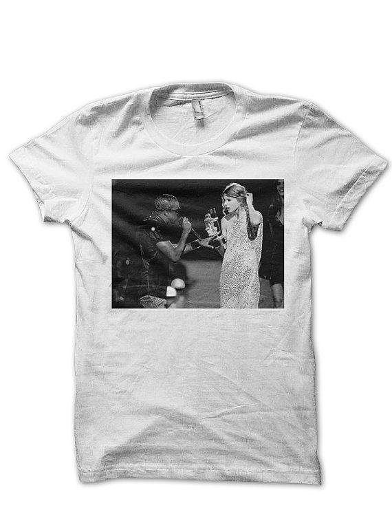 Kanye West Tshirt Tee Shirt Taylor Swift Tshirt Vma By Fandamonium 14 00 T Shirt Taylor Swift Tshirt Tee Shirts