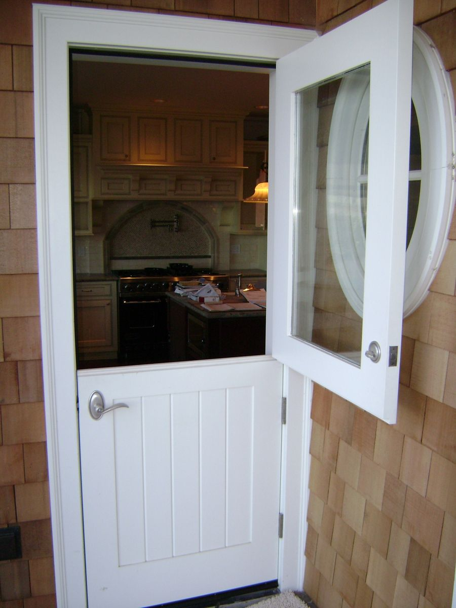 Back Door Dutch Doors For Log Homes Hand Made Dutch