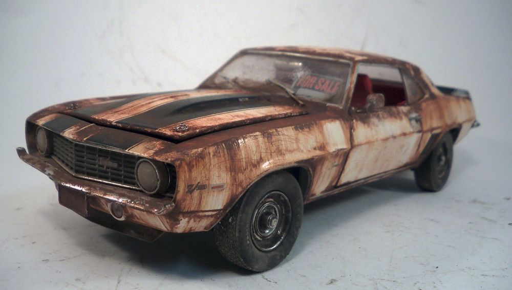 1969 Chevrolet Chevy Camaro Z/28 Weathered Barn Find Muscle Car ...