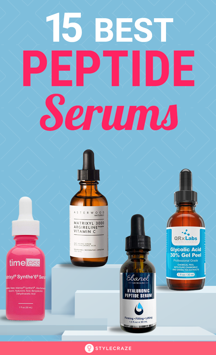 15 Best Peptide Serums Of 2020 In 2020 Peptide Serum Anti Aging Skin Products Timeless Skin Care