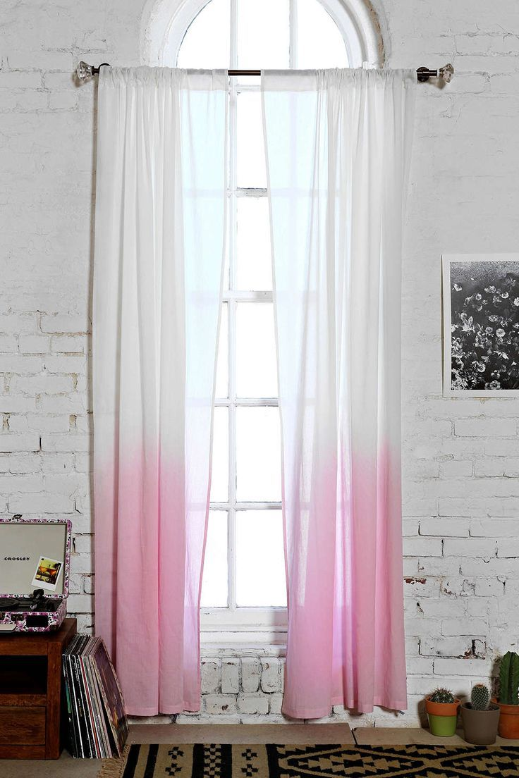 Assembly Home Gradient Curtain | Ombre curtains for Ombre Curtains Pink  111bof