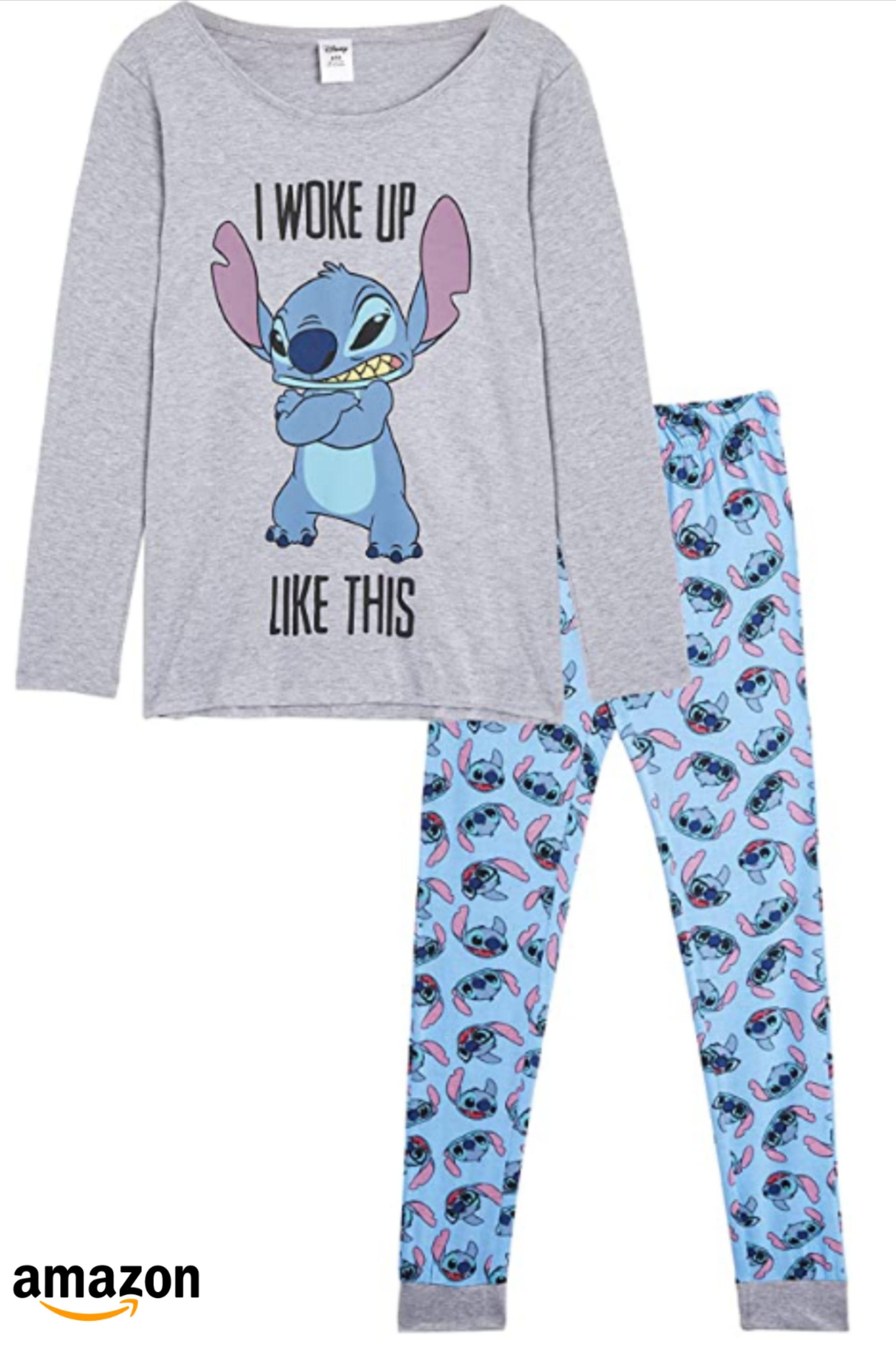 Disney Lilo Y Stitch Pijama Mujer Invierno Pijamas Mujer Ropa Para Chicas Adolescentes