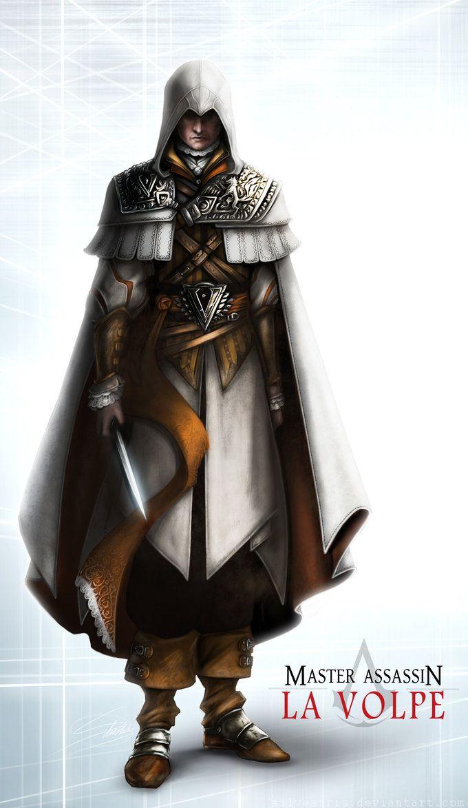 Master Assassin La Volpe Assassins Creed Tattoo Assassin S Creed Brotherhood All Assassin S Creed