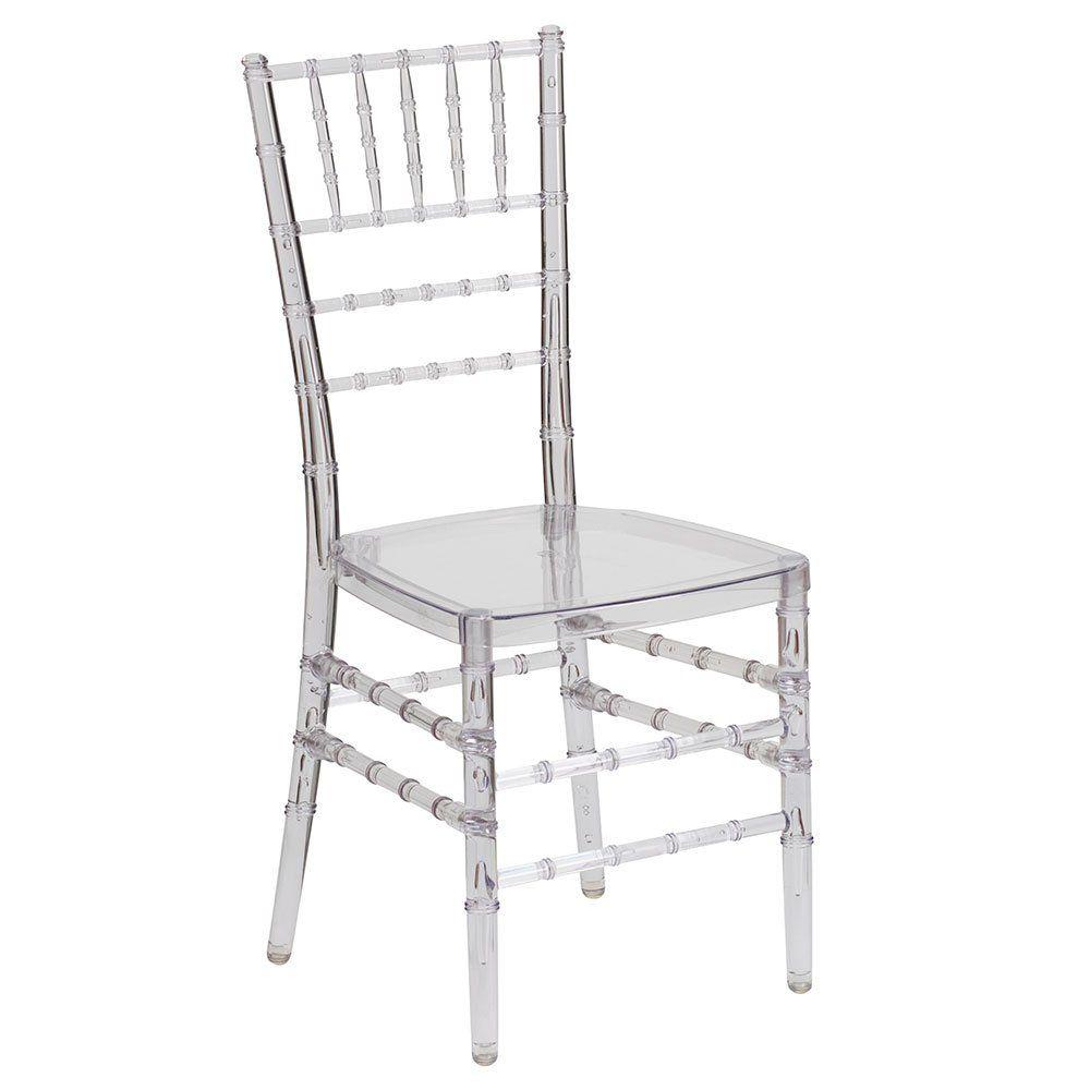 Chiavari Clear Polycarbonate Chair