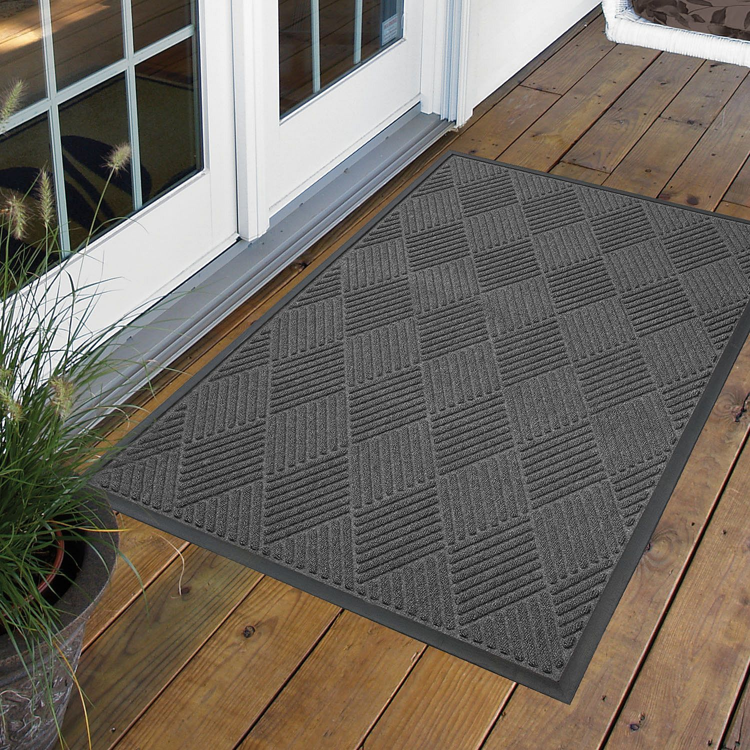 decorative weather design of with welcome guard exterior in also brown door pretty mats planter grey weatherguard for doormats outdoor outside wall colored paint