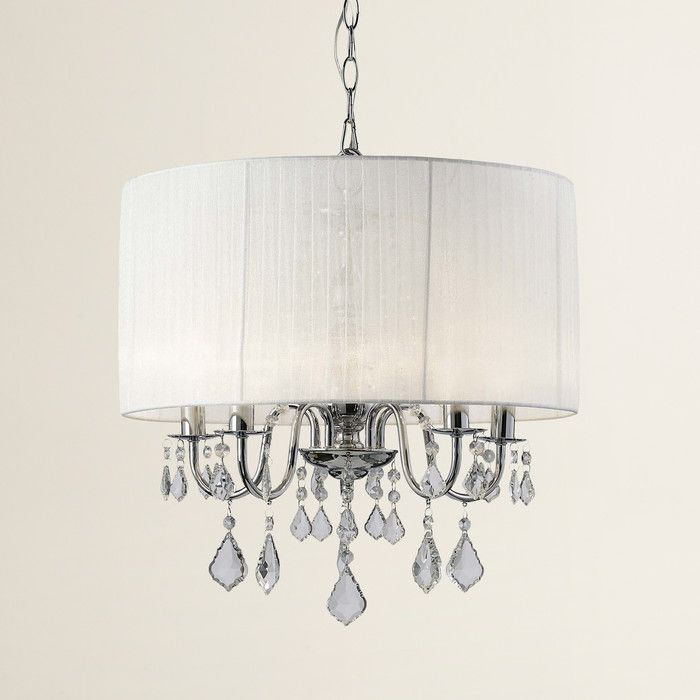Youll love the middleton 5 light drum chandelier at wayfair great deals on