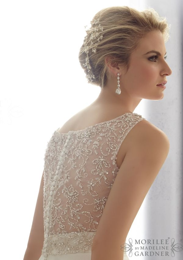 2679 Bridal Gowns / Dresses 2679 Crystal Beaded Embroidery on a ...