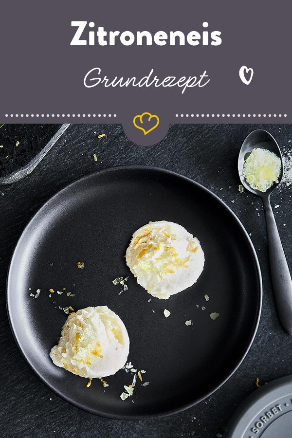 Erfrischendes Zitroneneis selber machen - das Grundrezept