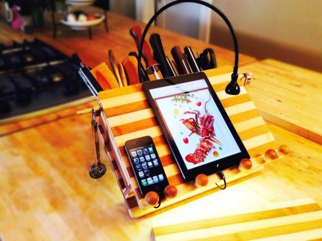 LED Beleuchtung und Bambus \u2013 eine Arbeitsecke in der Küche Pinterest