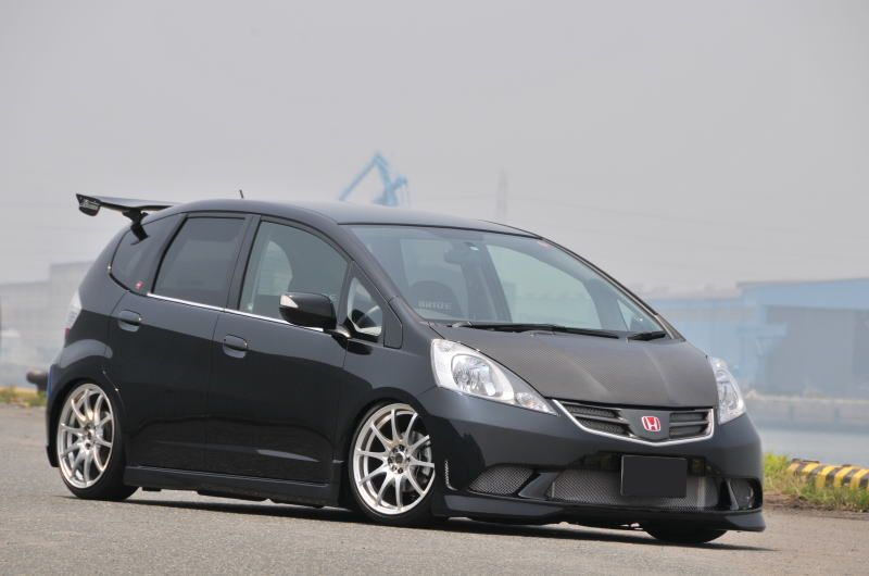 Honda Fit Sport Body Kit Love A Car With A Bat Look To It Import