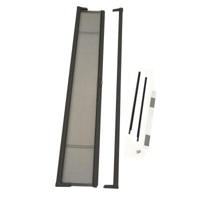 home depot front screen doorsODL 36 in x 97 in Brisa Bronze Tall Retractable Screen Door