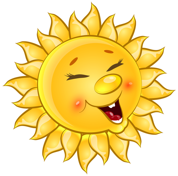 Transparent Cute Sun Cartoon PNG Clipart Picture НЕБО