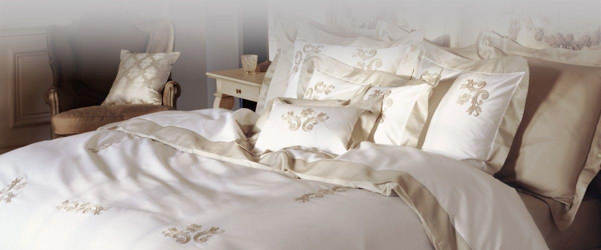 Yves Delorme linge de lit - Regence
