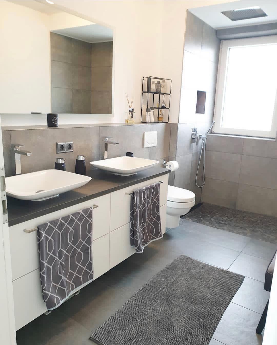 Das tolle, neue Badezimmer 🚿 von wohnenmitozlem ist ...