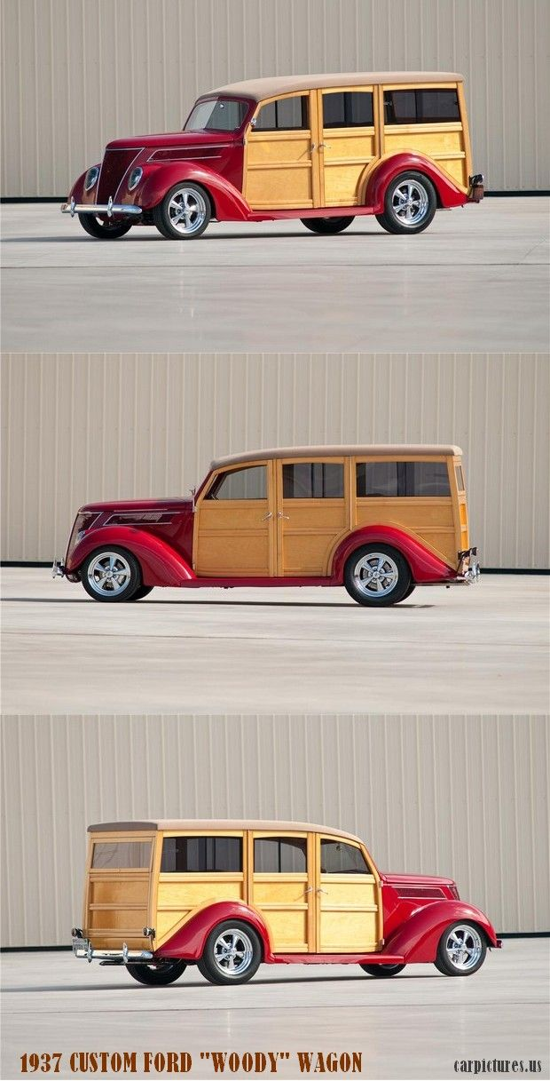 1937 Ford Custom Woody Wagon Here Is Where You Can Learn More About These Cars Http Www Autocollections Co Woody Wagon Classic Cars Trucks Ford Classic Cars