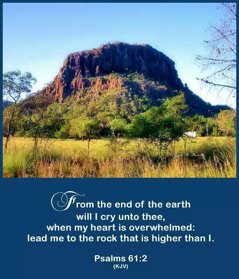Image result for Psalm 61:2""