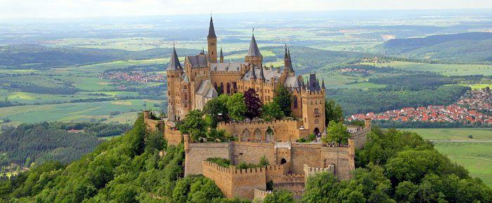 Castle History Hohenzollern Castle Germany Castles Europe Castles