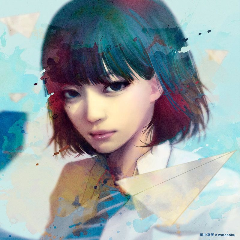 Makoto Tanaka Anime Art Girl Digital Art Girl Chinese Art Girl