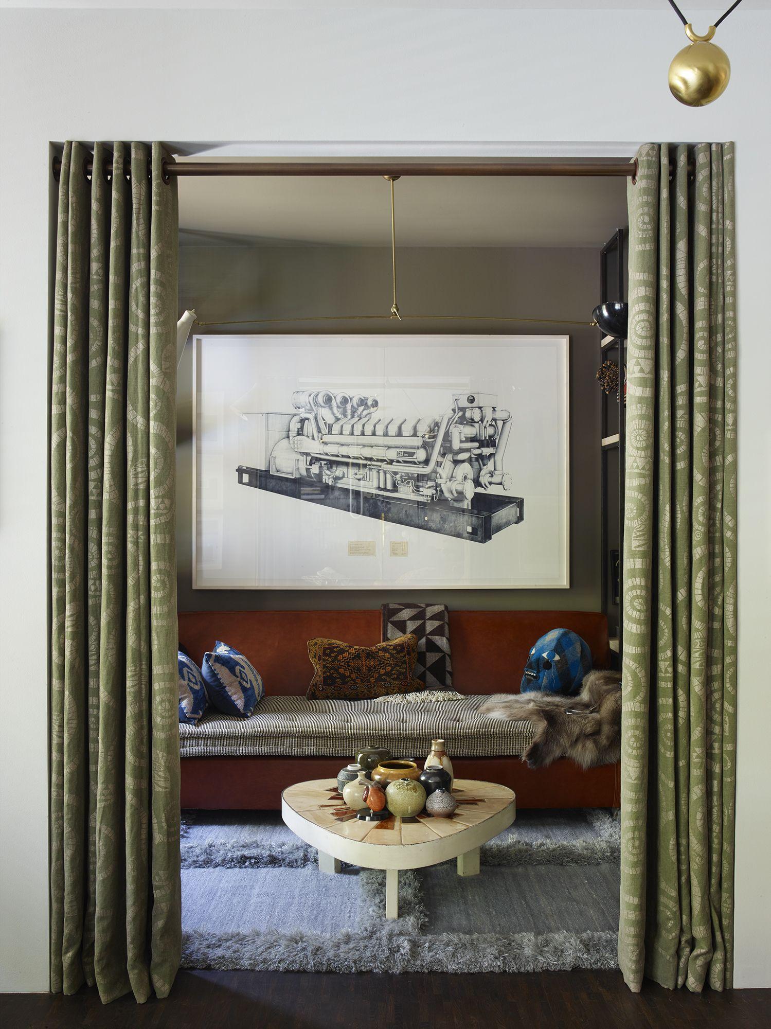 Hubert Zandberg Interiors living room Pinterest
