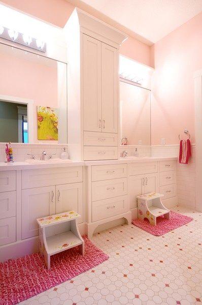 Jack Jill Bathrooms Girl Bathrooms Childrens Bathroom Bathroom Kids