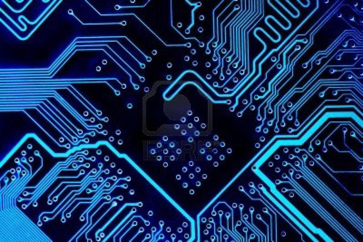 Circuit Board Wallpapers Wallpaper Pinterest Repair Of A Used In Pc Computer Royalty Free Clip