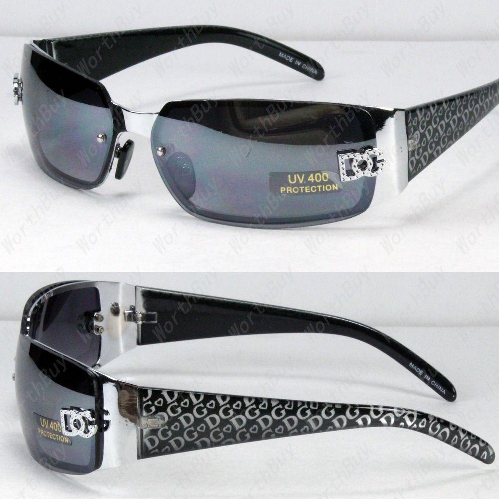 b903c4d9bc5 New DG Eyewear Womens Wrap Rimless Designer Fashion Sunglasses Oval Retro  Shades