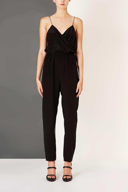 067cf53956b Silk Wrap Cami Jumpsuit - Topshop